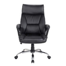 Modern Swivel Lounge PU Leather Office Chair