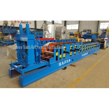 Automatic 80-100 c purlin roll forming machine