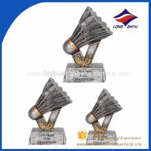 Troféu de badminton troféu trofocador de troféus de troféu