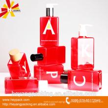 Botella cosmética cosmética para el cuidado de la piel