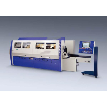 excellent performce Four side moulder for wood window making machine