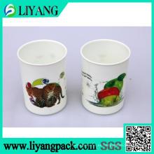 Diseño para exposición, película de transferencia de calor para taza de plástico