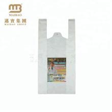 Embalagem barata resistente e durável camiseta de plástico saco de transporte