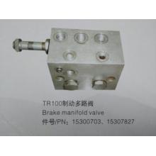 Válvula de colector de freio Terex tr100 15300703/15307827