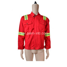 100% Cotton Red Colour Jacket
