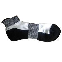 Männer Bogen Unterstützung Running Sport Socken mit hohen Knöchel (mas-02)
