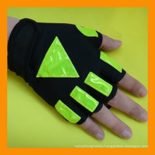 Half Finger Reflective Traffic Safety Police Gloves