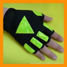 Половина Finger Безопасности Светоотражающий ГАИ Перчатки