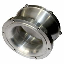 Pieza de maquinaria de construcción de la fundición de acero de China con final del mecanizado del CNC