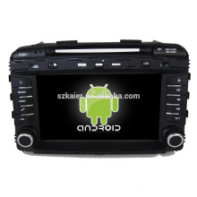 Glonass/GPS Android 4.4 Mirror-link TPMS DVR car central multimedia for KIA 2015 Sorento with GPS/BT/TV/3G