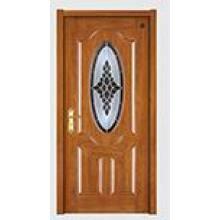 Modern Design Solid Wood Composite Paint Door