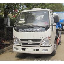 Camion d'aspiration de 6CBM 4X2 Foton / camion d'aspiration d'eaux d'égout de Fonton / camion d'aspiration d'eaux d'égout de Foton / camion de transport d'eaux d'égout