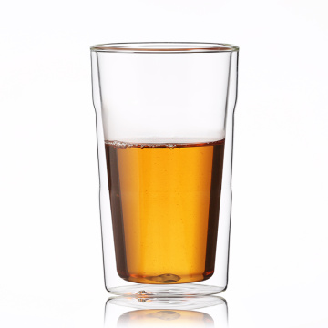 Manufacture Home Coffee High Borosilicate Double Wall Glass Cup
