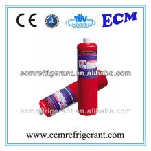 disposable cryogenic propane gas cylinder with burner (also provide refrigerant gas r290)