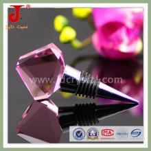 Tappo di vino intagliato a cristallo personalizzato per la decorazione di bottiglia