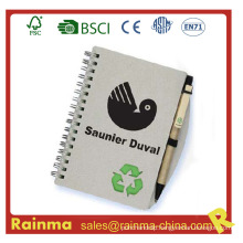 Mini Spiral Notebook with Ball Pen