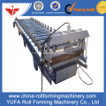 Warna Baja Atap Baja Glazur Tile Roll Forming Machine