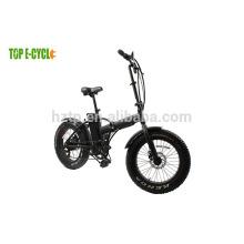 Vélo électrique pliant du vélo 48v gros pneu chinois de 20 pouces Ebike / e