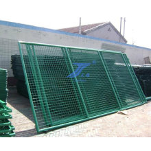 Good Quality & Low Price PVC Coated Safety Frame Fence