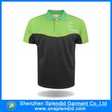 Mann Günstigen Preis 100% Polyester Polo T-Shirt für Casual