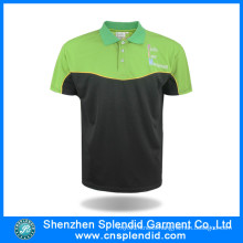 Man Cheap Price 100% Polyester Polo T-Shirt for Casual