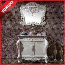 Античный Белый Слоновая Кость Шкафы Для Ванной Комнаты Наборы