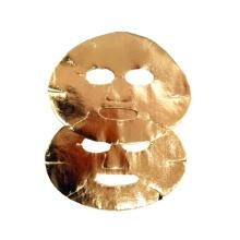 Masque facial doré sec Masque facial doré