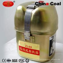 Autorrecuperación a prueba de explosiones del Co del filtro del minero Zl60