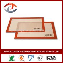 Ofen Safe Silikon Backmatte mit Fiberglas beschichtet
