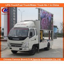Camião LED Foton com ecrã P10