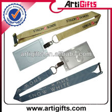 Wholesale fashion badge lanyard with id holder