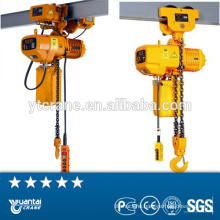 electric chain 1ton hoist price with high quality
