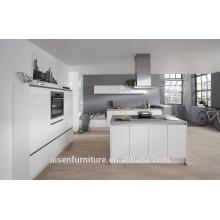 2016 alta qualidade lidar com design livre branco alto lustroso laca China armário de cozinha