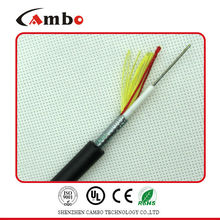 Factory price for telecom projects steel tape double armoured multi pairs SM/MM fibre optic ethernet cable