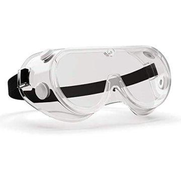 Óculos de segurança Óculos de proteção química Óculos de proteção