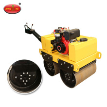 Gasoline Hand Double Drum Vibratory Road Roller