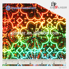 YXCP-077 Hologramm-Master-Shim zum Prägen Etiketten-Aufkleber