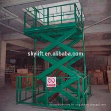 Горячая продажа !! небольшой крытый гидравлический грузовой лифт
