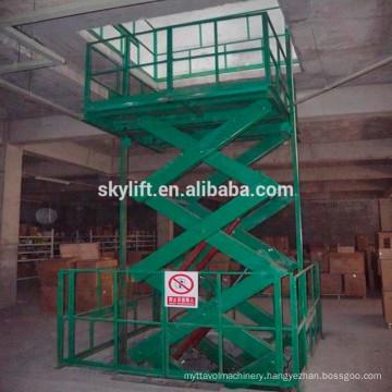 Hot sale !! small indoor hydraulic cargo lift