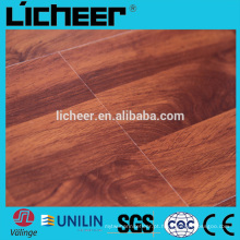 12,3 milímetros de efeito de cristal laminado revestimento piso de plástico