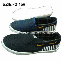 New Style Fashion Men′s Slip on Denim Shoes Casual Shoes (MP16721-8)