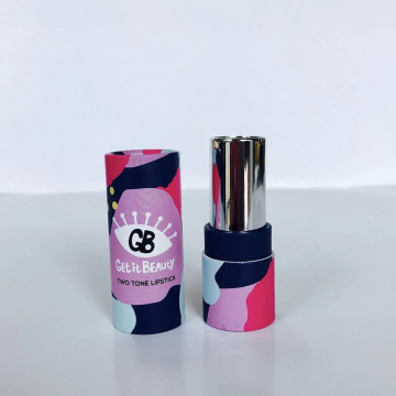 Small Art Paper Lipstick Paper Tube Gift Box