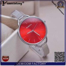 Yxl-797 Custom OEM Woman Watch Woman Slim Steel Band Watch Ladies Thin Steel Strap Watch