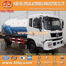 DONGFENG 4x2 10000L Abwassertank LKW 190hp heißer Verkauf