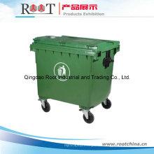 Kunststoff Mülleimer / Mülleimer mit Rad