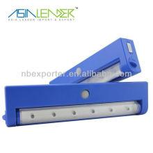 Lumière solaire LED de capteur LED / Luminaire 6LED Cabinet