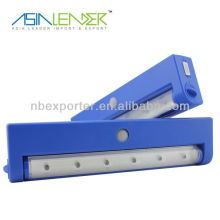 Solar Security LED Sensor Light /6LED Cabinet Light