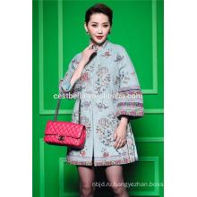 Новый дизайн весна женская одежда негабаритных длинный женщин дешевые пальто свободные пальто выкройка Пакистан