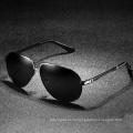 Новый дизайнер uv400 поляризованные мужские солнцезащитные очки солнцезащитные очки