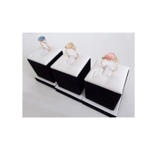 Lacquered Wooden Jewelry Ring Display (RS-S3)